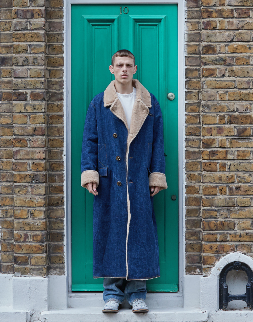 Oversize Shearing Cotton Coat_DE