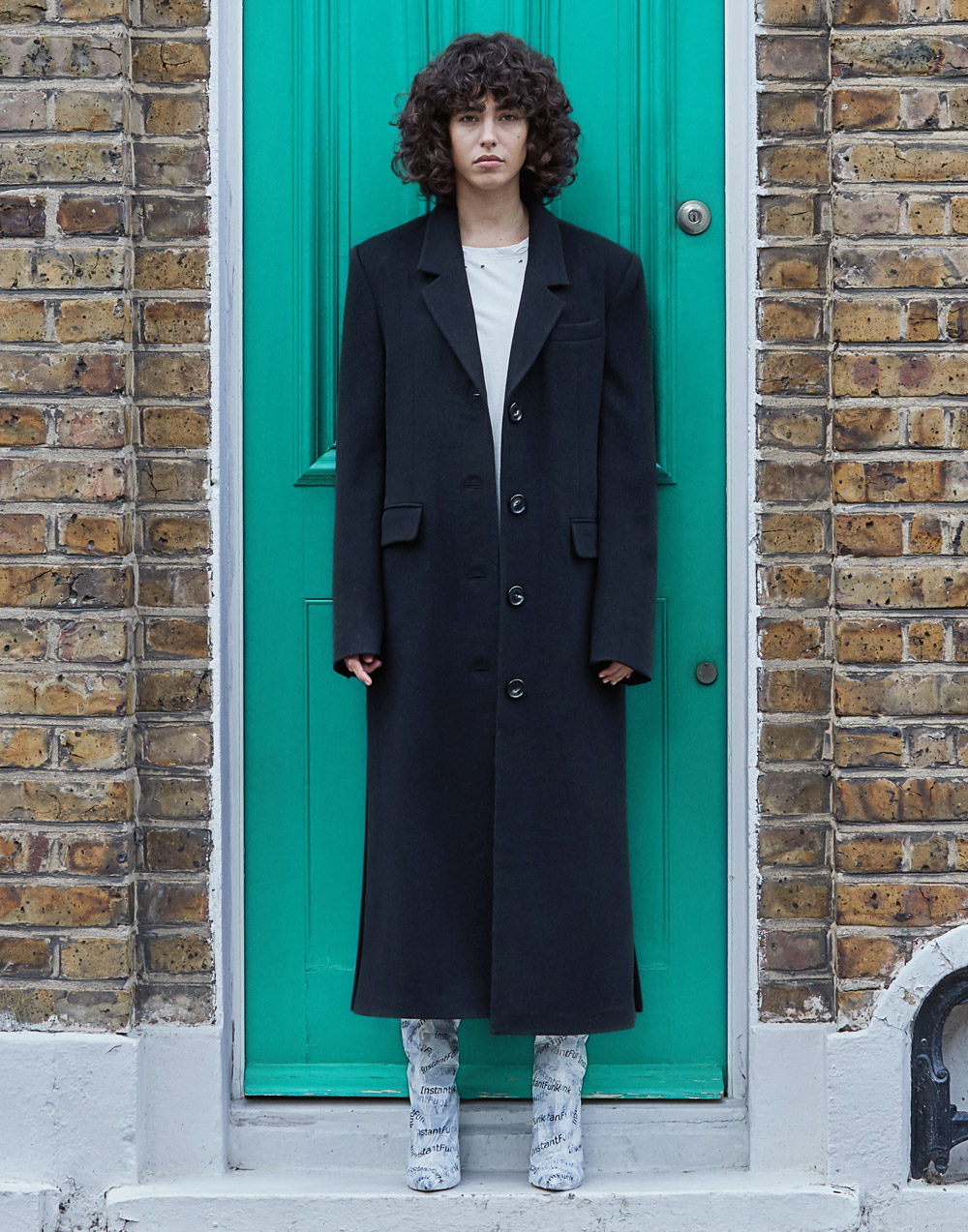 Basic Long Coat (Black)