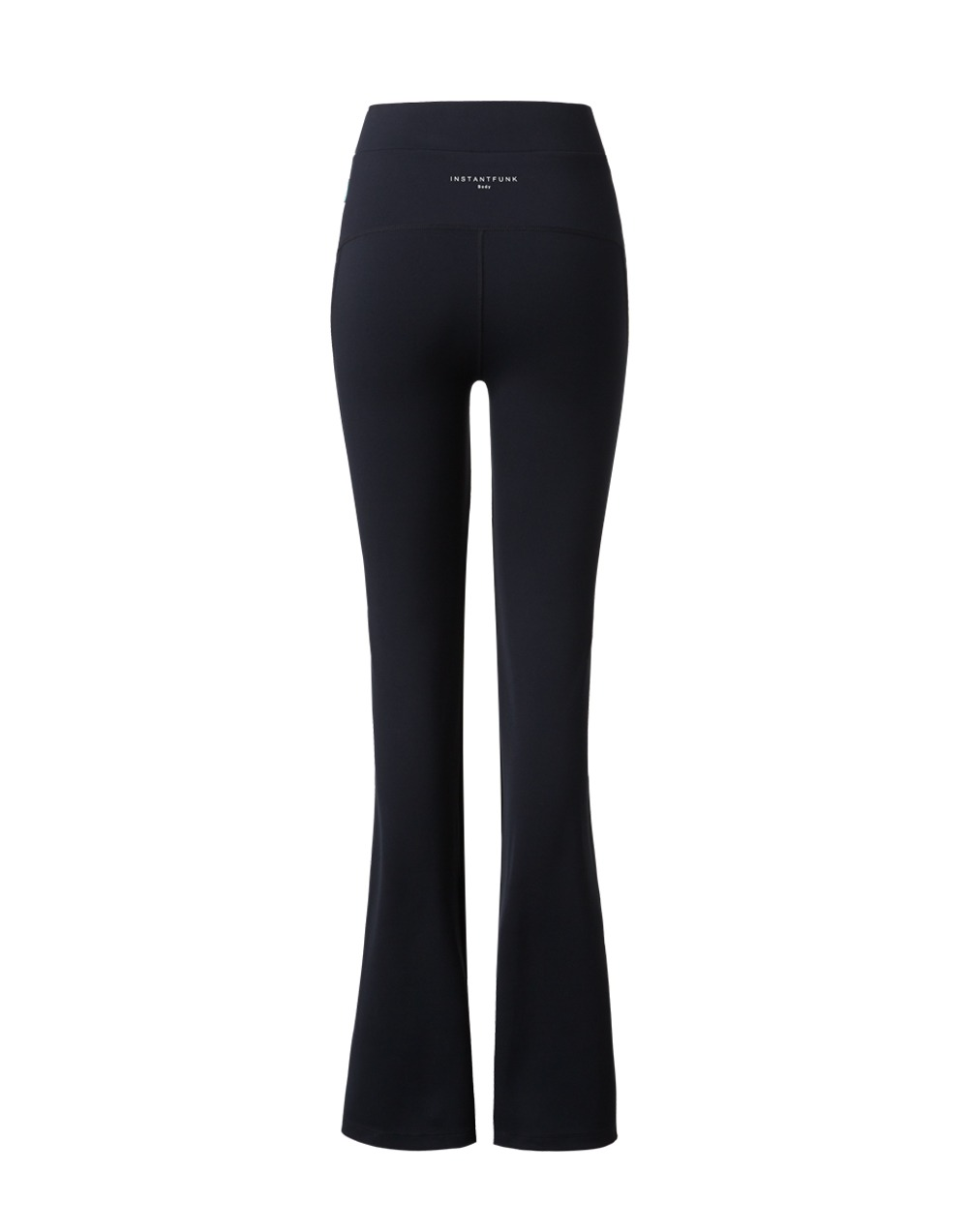 Volume Bootcut Leggings 01 - Black